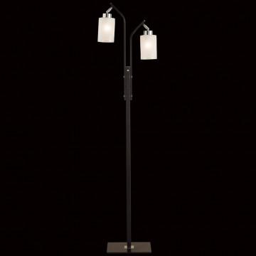 Торшер Citilux Фортуна CL156921, 2xE27x75W, венге, белый, металл, стекло - миниатюра 2