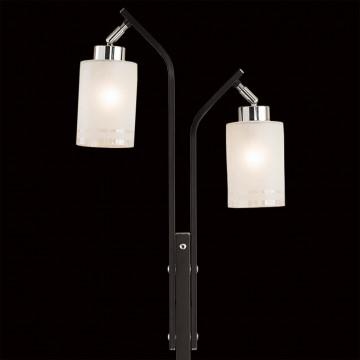 Торшер Citilux Фортуна CL156921, 2xE27x75W, венге, белый, металл, стекло - миниатюра 4