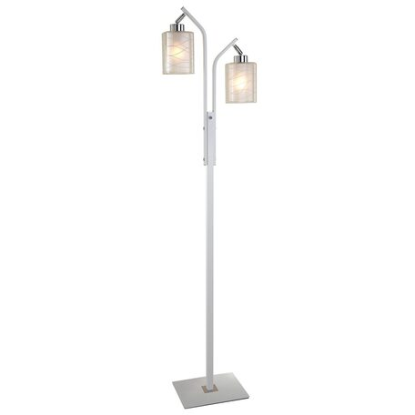 Торшер Citilux Румба CL159920, 2xE27x75W, белый, металл, стекло