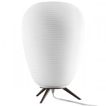 Настольная лампа Lightstar Arnia 805912, 1xE27x40W, коричневый, белый, металл, стекло