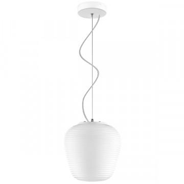 Подвесной светильник Lightstar Arnia 805011, 1xE27x40W, белый, металл, стекло