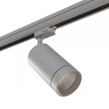 Светодиодный светильник для шинной системы Lightstar Canno 303592, LED 35W 3000K 2240lm, серый, металл