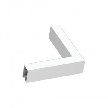 Коннектор для модульной системы Ideal Lux FLUO CORNER 3000K WHITE 191423, LED 8W 3000K (теплый), белый