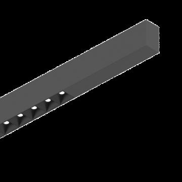 Светодиодный светильник для модульной системы Ideal Lux FLUO ACCENT 1800 4000K BK 192420 (FLUO ACCENT 1800 4000K BLACK), LED 30W 4000K 2400lm CRI≥83, черный, металл