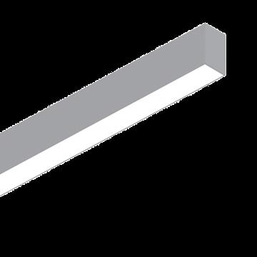 Светодиодный светильник для модульной системы Ideal Lux FLUO WIDE 1200 4000K ALUMINUM 192468, LED 26W (дневной), алюминий, белый, металл, пластик