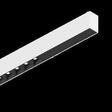 Светодиодный светильник для модульной системы Ideal Lux FLUO ACCENT 1800 3000K WH 192499 (FLUO ACCENT 1800 3000K WHITE), LED 30W 3000K 2200lm CRI≥83, белый, черно-белый, металл