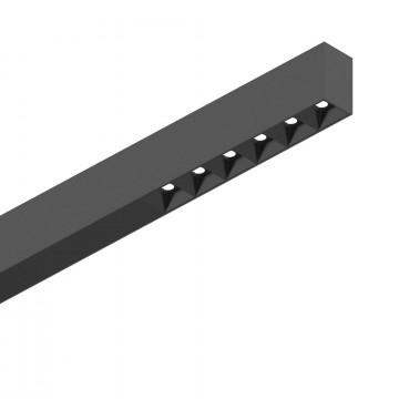 Светодиодный светильник для модульной системы Ideal Lux FLUO ACCENT 1200 4000K BK 192529 (FLUO ACCENT 1200 4000K BLACK), LED 30W 4000K 2400lm CRI≥83, черный, металл