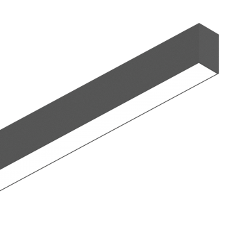 Светильник для модульной системы Ideal Lux FLUO WIDE 1800 3000K BLACK 192567 3000K (теплый), белый, черный, металл, пластик