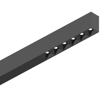 Светодиодный светильник для модульной системы Ideal Lux FLUO ACCENT 1200 3000K BLACK 192581, LED 30W (теплый), черный, металл