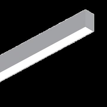 Светодиодный светильник для модульной системы Ideal Lux FLUO WIDE 1800 4000K ALUMINUM 192598, LED 36W (дневной), алюминий, белый, металл, пластик