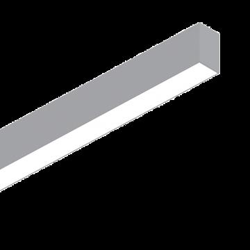 Светодиодный светильник для модульной системы Ideal Lux FLUO BI-EMISSION 1200 3000K AL 192659 (FLUO BI-EMISSION 1200 3000K ALUMINUM), LED 39W 3000K 21001900lm CRI≥83, алюминий, металл, пластик