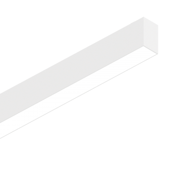 Светодиодный светильник для модульной системы Ideal Lux FLUO BI-EMISSION 1200 4000K WH 192741 (FLUO BI-EMISSION 1200 4000K WHITE), LED 39W 4000K 30002100lm CRI≥83, белый, металл, пластик