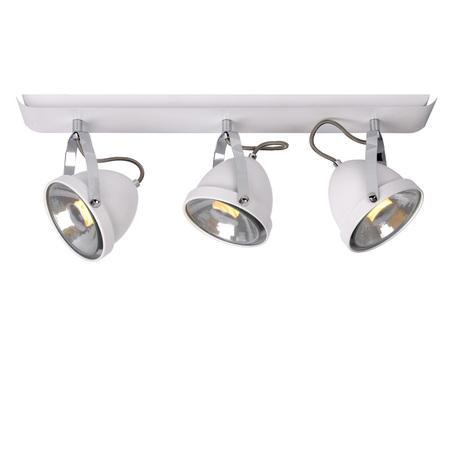 Потолочный светильник с регулировкой направления света Lucide Pariss 26951/73/31, 3, белый, металл
