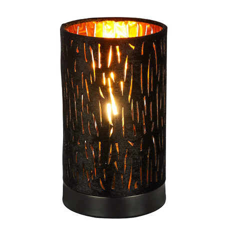Настольная лампа Globo Tuxon 15264T1, 1xE14x40W, металл, текстиль