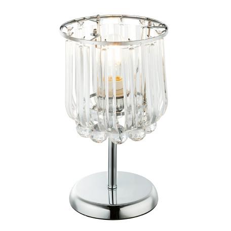 Настольная лампа Globo Minnesota 15303T, 1xE14x40W, прозрачный, металл, пластик