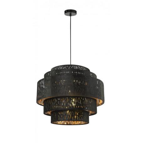 Подвесной светильник Globo Tuxon 15264H3, 1xE27x60W, металл, текстиль