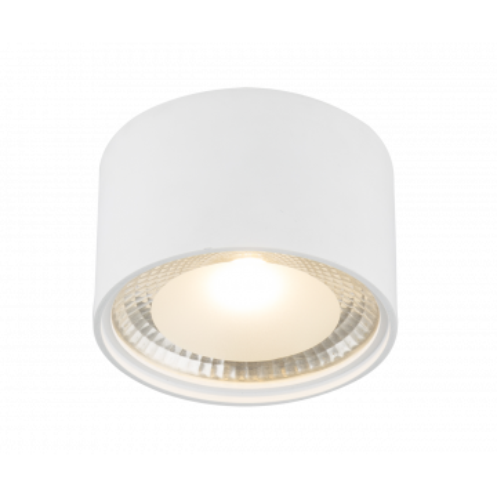 Потолочный светодиодный светильник Globo Serena 12007W, LED 12W 3000K, металл, стекло