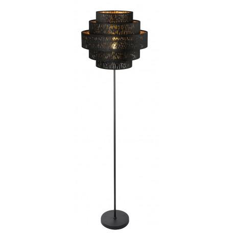 Торшер Globo Tuxon 15264S2, 1xE27x60W, металл, текстиль