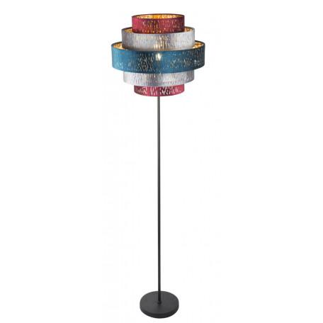 Торшер Globo Ticon 15266S2, 1xE27x60W, металл, текстиль