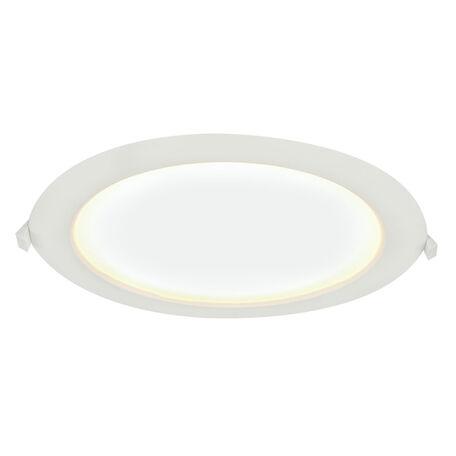 Встраиваемая светодиодная панель Globo Polly 12395-24, IP65, LED 24W 3000K, пластик