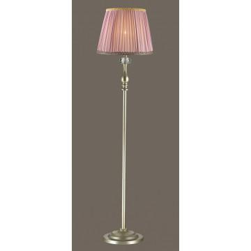 Торшер Odeon Light Gaellori 3393/1F, 1xE14x40W, золото, прозрачный, фиолетовый, металл, стекло, текстиль
