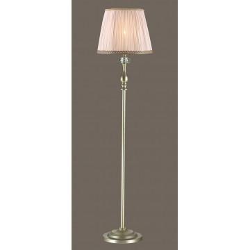 Торшер Odeon Light Aurelia 3390/1F, 1xE14x40W, золото, прозрачный, бежевый, металл, хрусталь, текстиль
