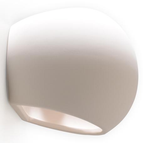 Настенный светильник Sollux Globe SL.0032, 1xE27x60W, белый, керамика