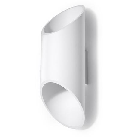 Настенный светильник Sollux Penne SL.0108, 1xG9x40W, белый, металл