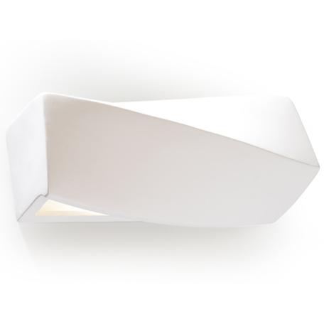 Настенный светильник Sollux Mini SL.0229, 1xE27x60W, белый, керамика