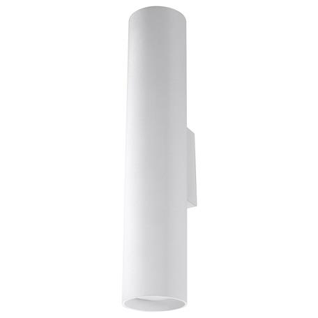 Настенный светильник Sollux Lagos SL.0326, 2xGU10x40W, белый, металл