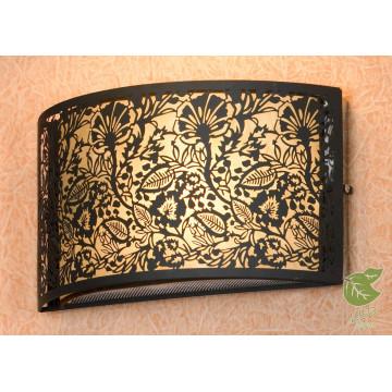 Настенный светильник Lussole Loft Vetere GRLSF-2371-01, IP21, 1xE14x6W, черный, металл с пластиком