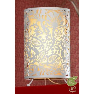 Настольная лампа Lussole Loft Vetere GRLSF-2304-01, IP21, 1xE27x10W, белый, металл, металл с пластиком
