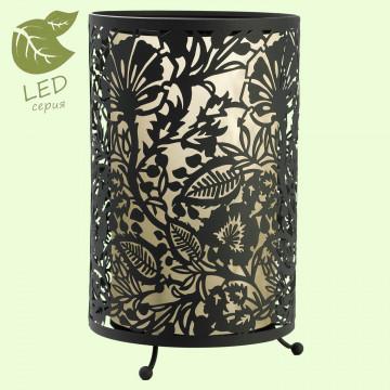 Настольная лампа Lussole Loft Vetere GRLSF-2374-01, IP21, 1xE27x10W, черный, металл, металл с пластиком