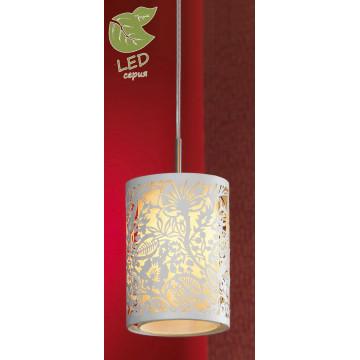 Подвесной светильник Lussole Loft Vetere GRLSF-2306-01, IP21, 1xE14x6W, белый, металл, металл с пластиком
