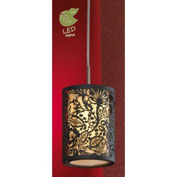 Подвесной светильник Lussole Loft Vetere GRLSF-2376-01, IP21, 1xE14x6W, черный, металл, металл с пластиком