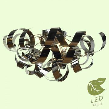 Потолочная люстра Lussole Loft Briosco GRLSA-5907-09, IP21, 9xG9x5W, хром, черный хром, металл