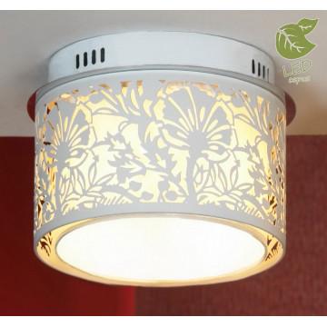 Потолочный светильник Lussole Loft Vetere GRLSF-2307-04, IP21, 4xE14x6W, белый, металл, металл с пластиком
