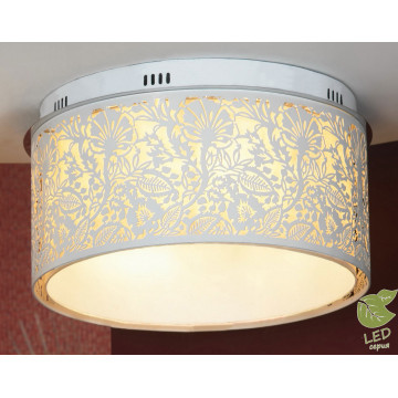Потолочный светильник Lussole Loft Vetere GRLSF-2307-07, IP21, 7xE14x6W, белый, металл, металл с пластиком