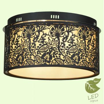 Потолочный светильник Lussole Loft Vetere GRLSF-2377-07, IP21, 7xE14x6W, черный, металл, металл с пластиком