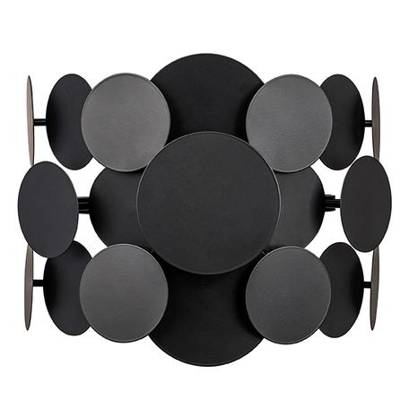 Настенный светильник Lightstar Circo 797627, 2xE14x40W, черный, металл