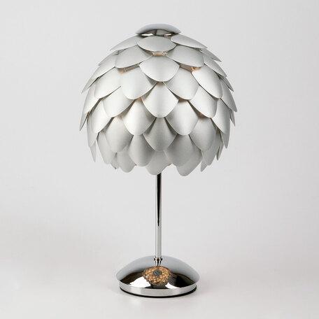 Настольная лампа Bogate's Cedro 01099/1, 1xE27x60W, хром, серебро, металл