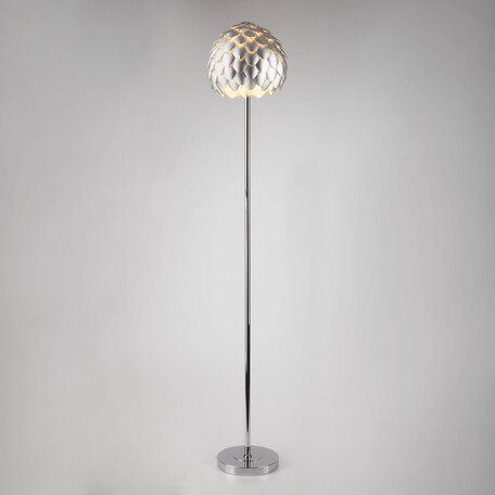 Торшер Bogate's Cedro 01100/1, 1xE27x60W, хром, серебро, металл