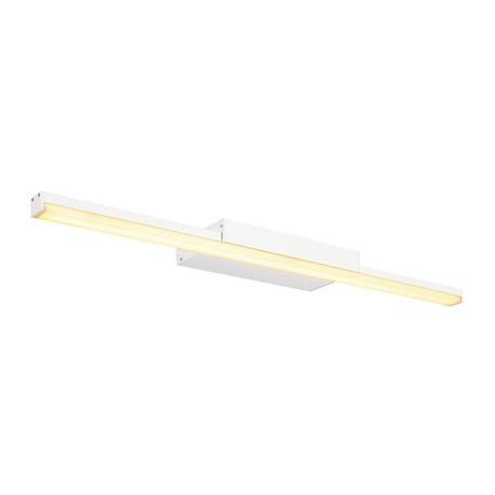 Настенный светодиодный светильник для подсветки зеркал SLV GLENOS 60 WL-1 146801, LED 3000K, белый