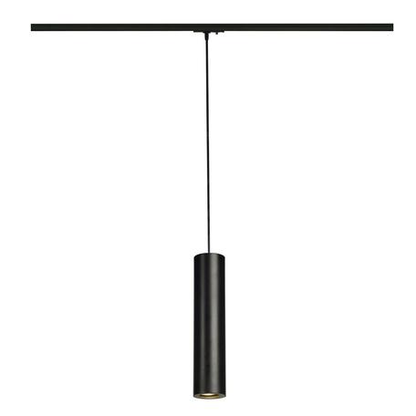 Подвесной светильник для шинной системы SLV 1PHASE-TRACK, ENOLA_B PD-1 143960, 1xGU10x50W, черный