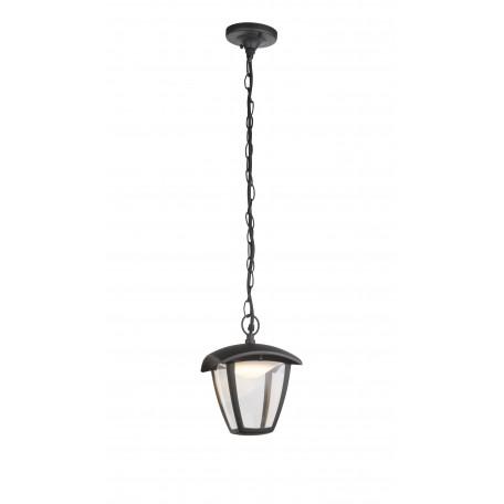 Подвесной светодиодный светильник Globo Delio 31829, IP44, LED 7W 3000K 360lm, металл, металл с пластиком