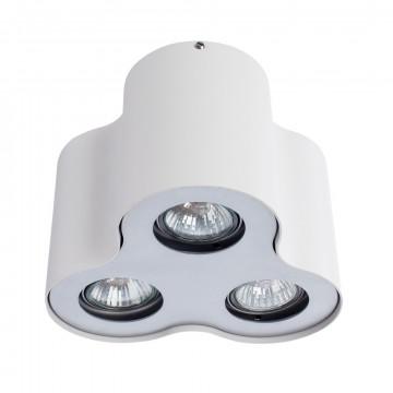 Потолочный светильник Arte Lamp Instyle Falcon A5633PL-3WH, 3xGU10x50W, белый, металл