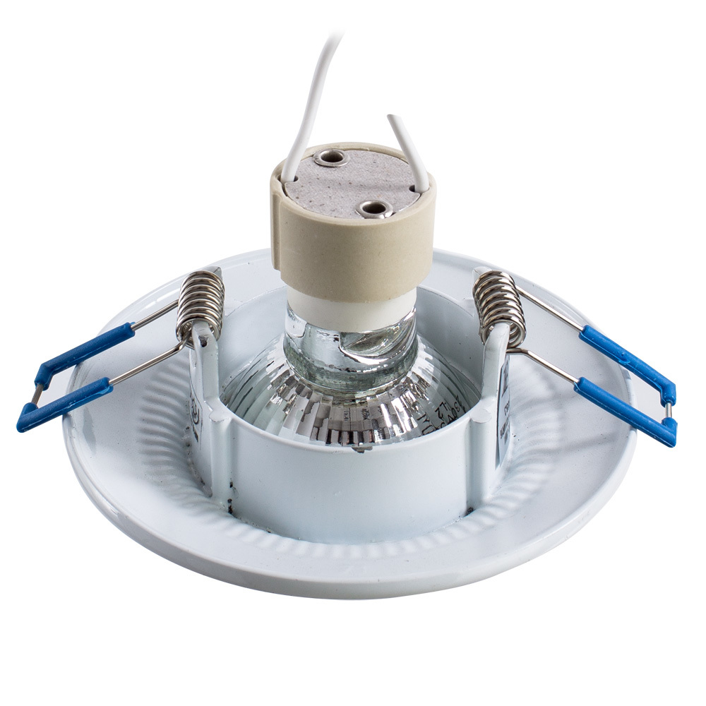 Встраиваемый светильник Arte Lamp Instyle Occhio A5280PL-1WA, 1xGU10x50W, белый, серебро, металл - фото 3