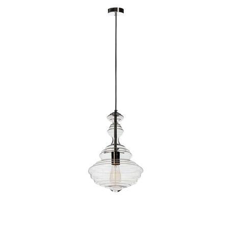Подвесной светильник Loft It La Scala 2073-B, 1xE27x60W, хром, прозрачный, металл, стекло
