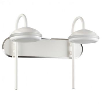 Настенный светодиодный светильник Novotech Calle 357449, IP65, LED 14W 3000K 1190lm, белый, металл, пластик