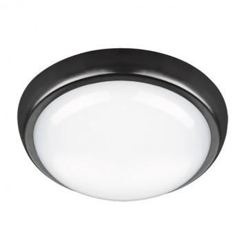 Настенный светодиодный светильник Novotech Street Opal 357507, IP54, LED 24W 4000K 1550lm, черный с белым, пластик